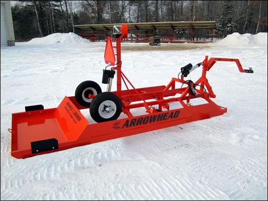 Arrowhead Groomers - Mini Ultra Snowmobile Trail Groomer Drag